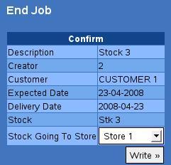 end job