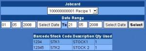 stock usage
